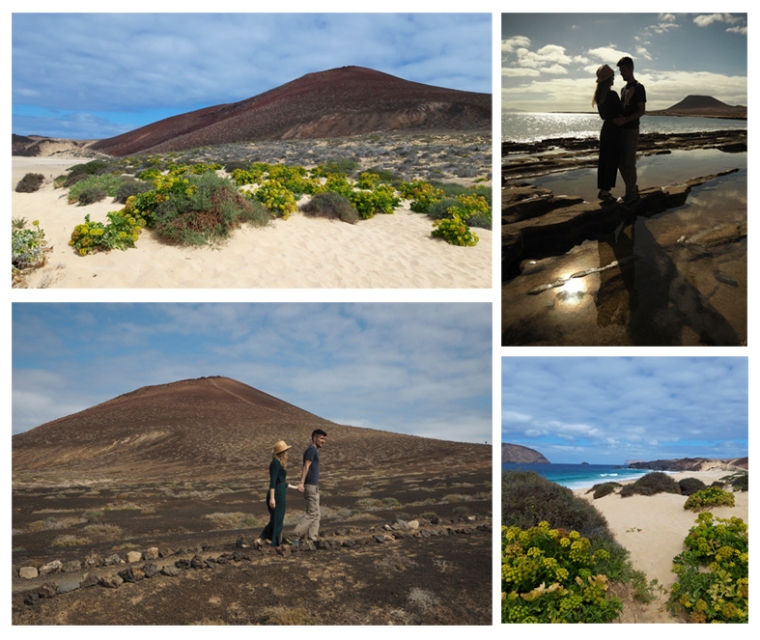 la graciosa collage